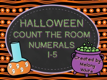 Halloween Count the Room 1-5