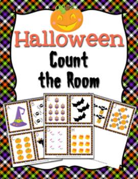 Halloween Count the Room Activity