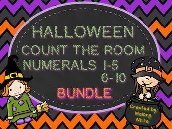 Halloween Count the Room *BUNDLE*