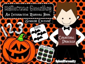 Halloween Counting: An Interactive Reading Math Book SPANI