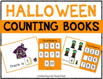 Halloween Counting Books (Adapted Books)