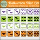 Halloween Counting Dice & Bat Clip Art Set {Messare Clips
