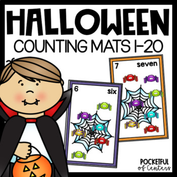 Halloween Counting Mats 0-20