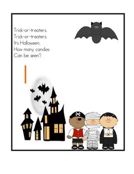 Halloween Counting Mats 1-20