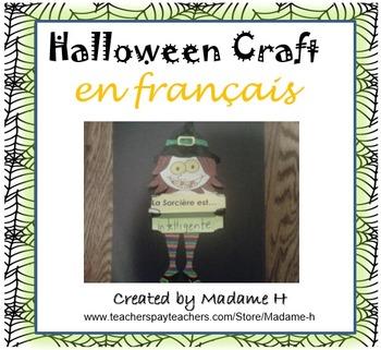 Halloween Craft en français!