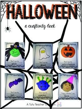 Halloween Craftivity Book