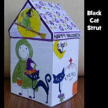 Hallowe'en Crafts - Black Cat Strut