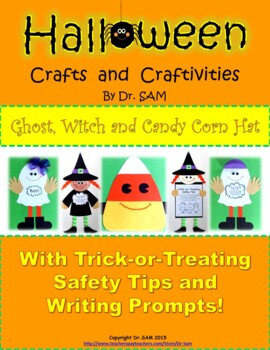 Halloween Crafts and Craftivities: Ghost, Witch and Candy