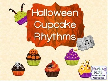 Halloween Cupcake Rhythms Ta TiTi Rest