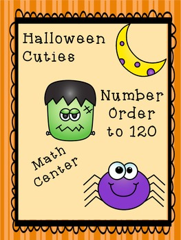 Halloween Number Order to 120 (Least to Greatest/Greatest