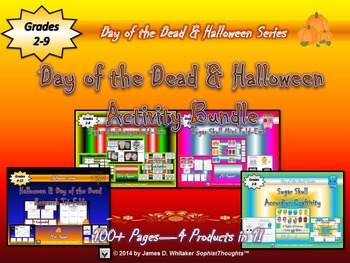Halloween Day of the Dead Activity Bundle