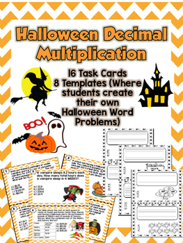 Halloween Decimal Multiplication