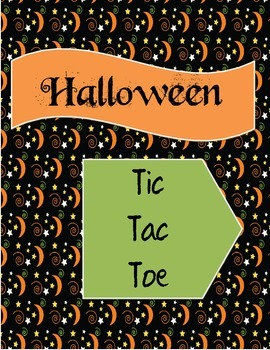 Halloween Decimals Activity:  Tic Tac Toe