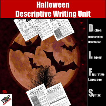 Halloween Descriptive Writing Activities (Figurative Langu