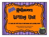Halloween Descriptive Writing Unit!