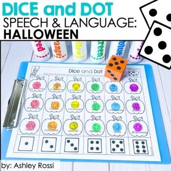 Halloween Dice and Dot