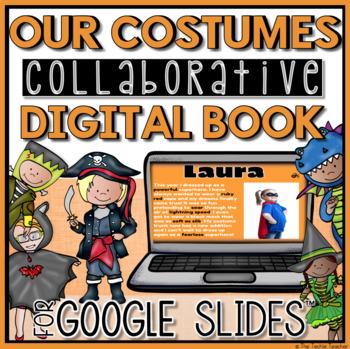Halloween Digital Book in Google Slides