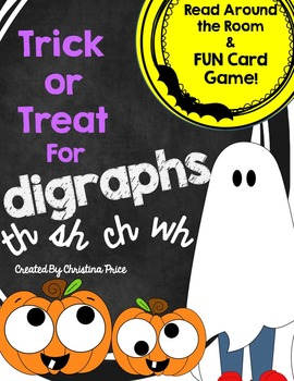 Halloween Digraphs sh ch th wh
