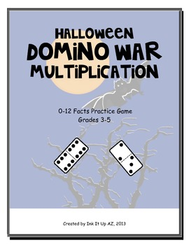 Halloween Domino War (Multiplication)