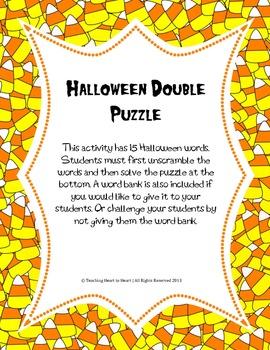 Halloween Double Puzzle