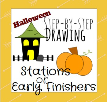 Halloween Drawing Station or Early Finisher