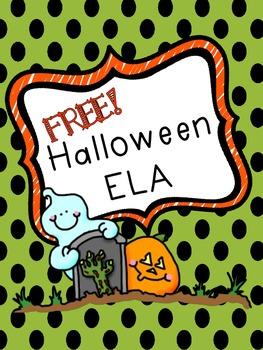 Halloween ELA Practice Pages