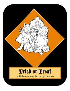 Halloween Printable Book - Emergent Reader - Trick or Treat