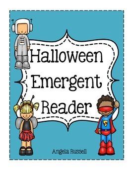 Halloween Emergent Reader ~ What Am I?