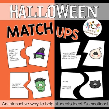Halloween Emotion Match-Up Puzzles