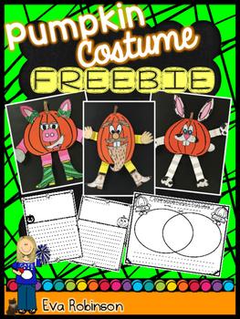 Halloween FREEBIE- Pumpkin Costumes!