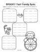 Halloween Fact Family Spinner Activity - 2 sheets! Math Center