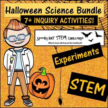 Halloween, Fall, Thanksgiving Science STEM and Inquiry Bun