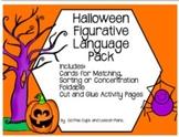 Halloween Figurative Language Interactive Pack