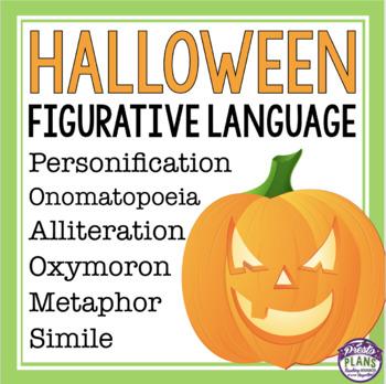 HALLOWEEN FIGURATIVE LANGUAGE