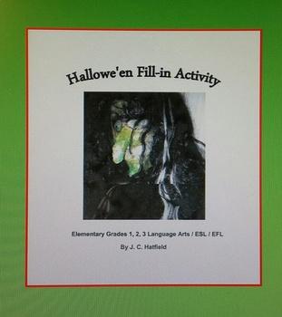 Hallowe'en Fill-in Activity