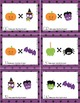 Halloween Math Find the Product Task Cards