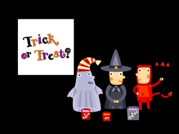 Halloween Flashcards in Powerpoint