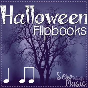 Halloween Flipbooks and Other Activities to Review Ta and Ti-ti