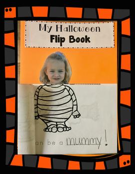 Halloween Flip Book - A fun Craftivity!