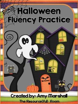 Halloween Fluency Practice Pack