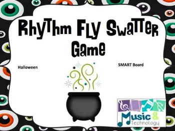 Halloween Fly Swatter Rhythm Game SMART Board