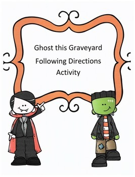 Halloween Following Directions Activity: Have Kids Ghost t