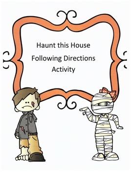 Halloween Following Directions Activity: Have Kids Haunt t