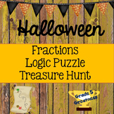 Halloween Math: Fourth, Fifth, Sixth Grade Activities
