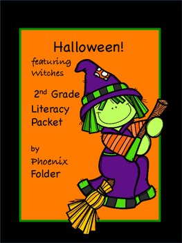 FREE - Halloween! featuring Witches, 2nd Grade Literacy Packet