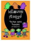 Halloween Freebie: Action Verbs and Adverbs Fun Printables