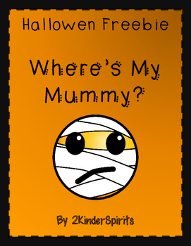 Halloween Freebie Where's My Mummy?