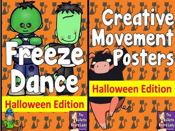 Halloween Freeze Dance and Creative Movement