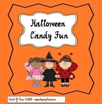 Halloween Candy Challenge:  Use writing and math skills