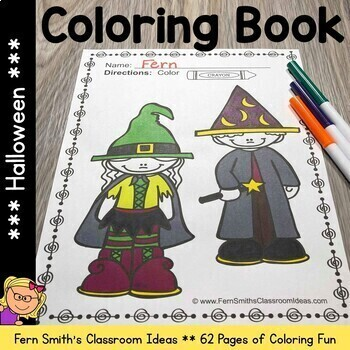 Coloring Pages for Halloween